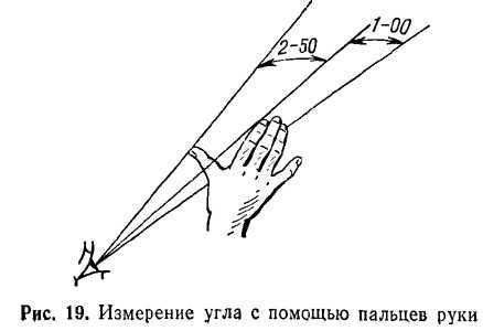 Направление на предмет (цель) определяется и указывается величиной горизонтального угла между начальным направлением...